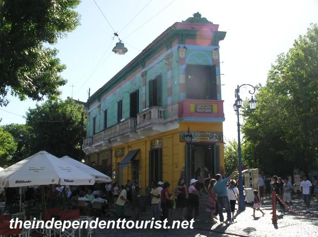 Caminito Street Buenos Aires Argentina