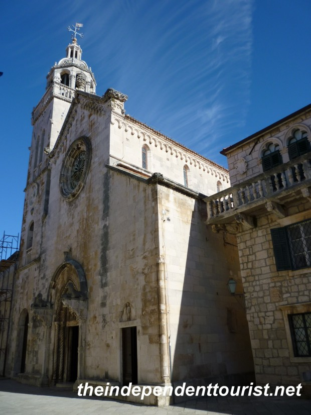 Cathedral of St. Mark Korcula Croatia