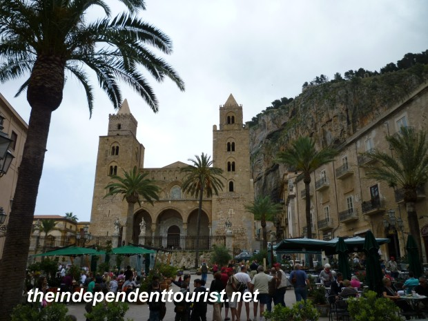 Cefalu Cathedral, Sicily, Italy