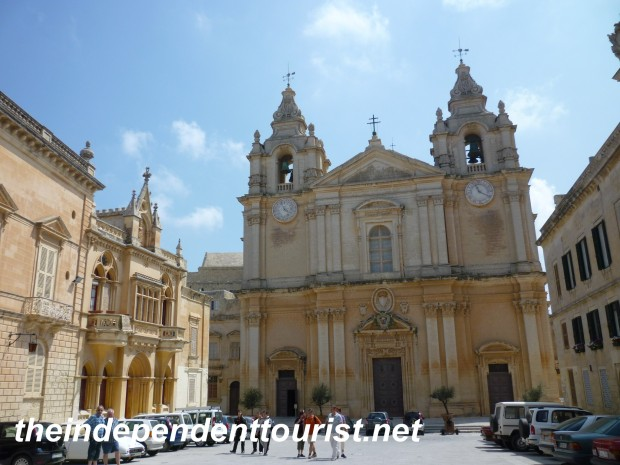Co-Cathedral, St. Paul, Mdina, Malta