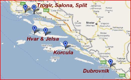 Croatia-Dalmatian Coast