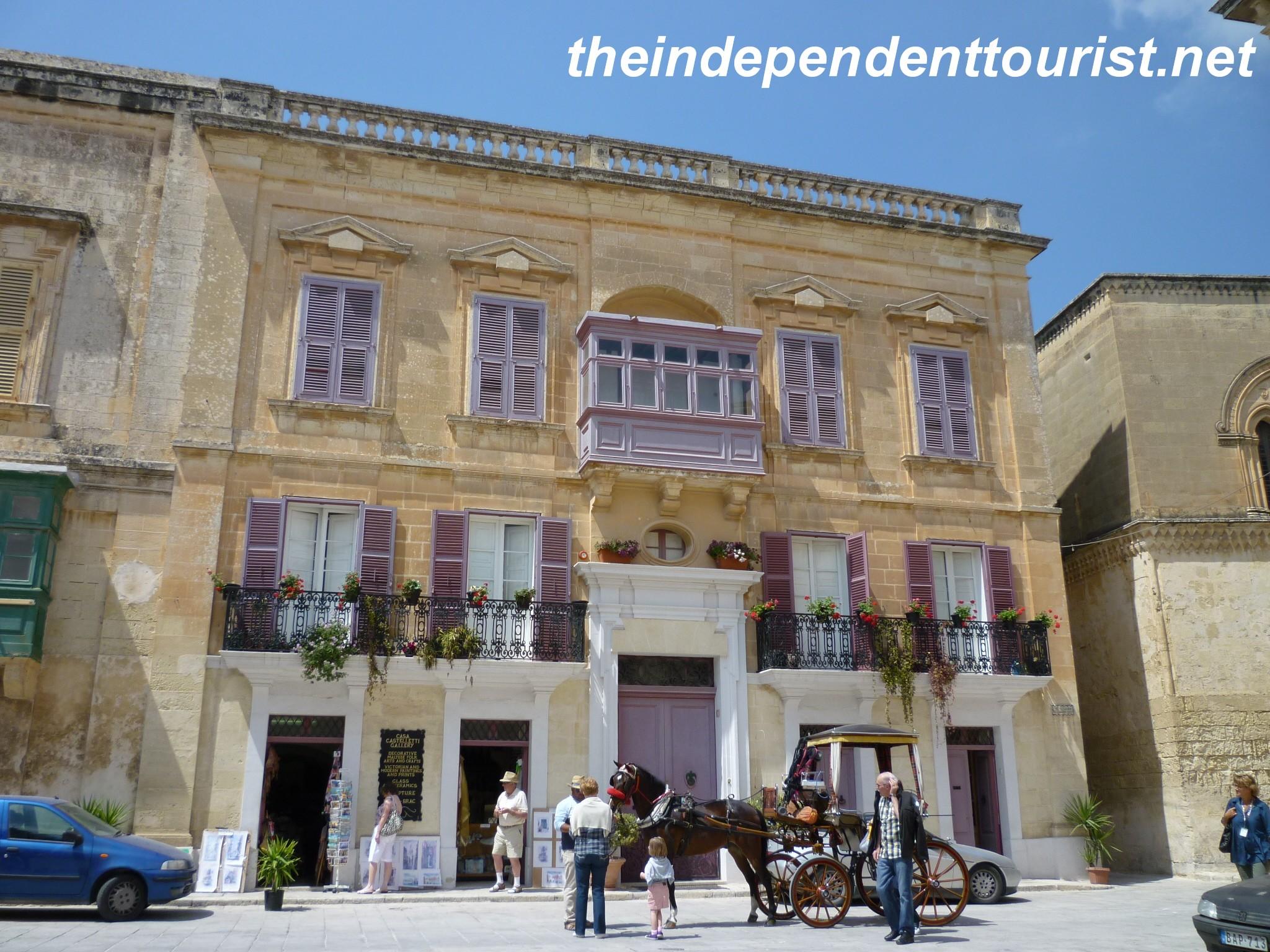 mdina street scene malta 2 the independent tourist
