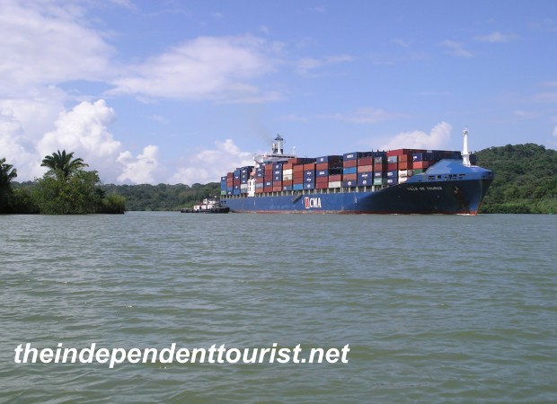 Gatun Lake, Panama.
