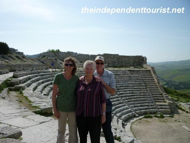 Segesta Theater, Sicily, Italy