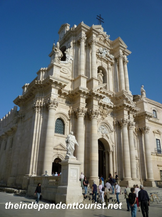 Syracuse Cathedral, Sicily, Italy
