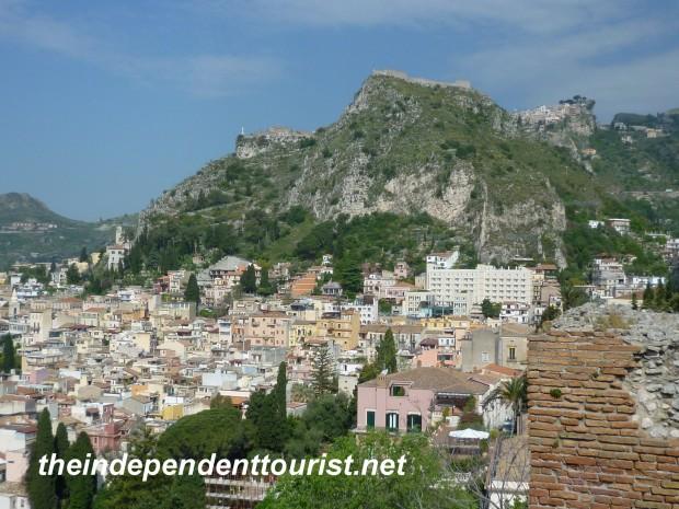 Castlemola, Taormina, Sicily, Italy