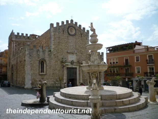 Taormina Cathedral, Sicily, Italy