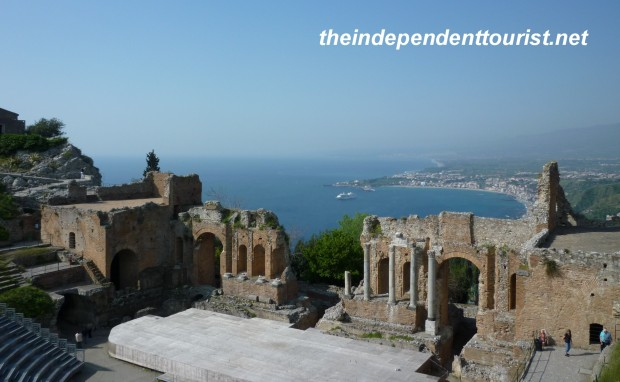 Greek Theater, Taormina, Sicily, Italy