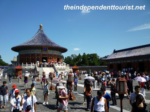 Imperial Vault of Heaven, Temple of Heaven, Beijing, China.
