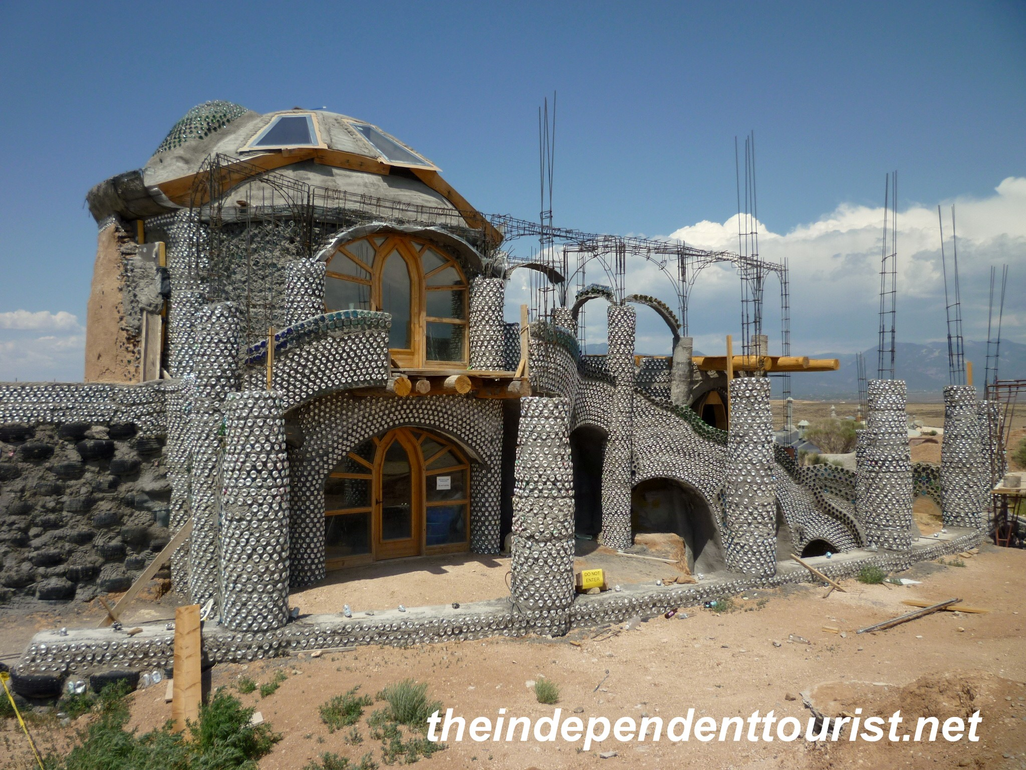 Earthship Sustainable Housing 18 The Independent Tourist