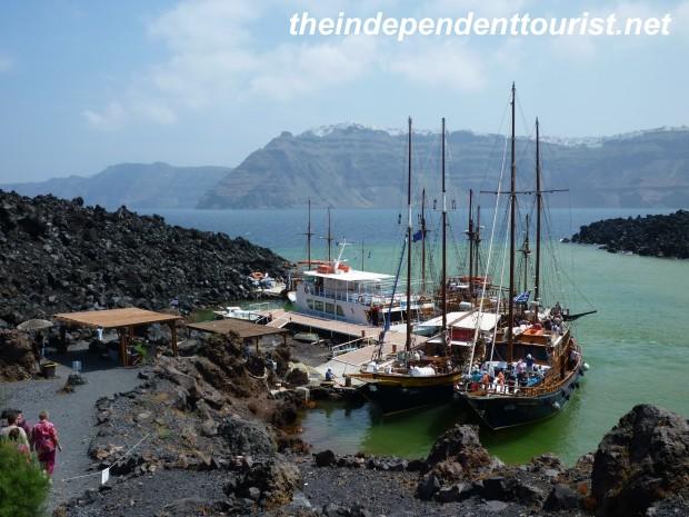 Nea Kameni Island_Santorini_Greece