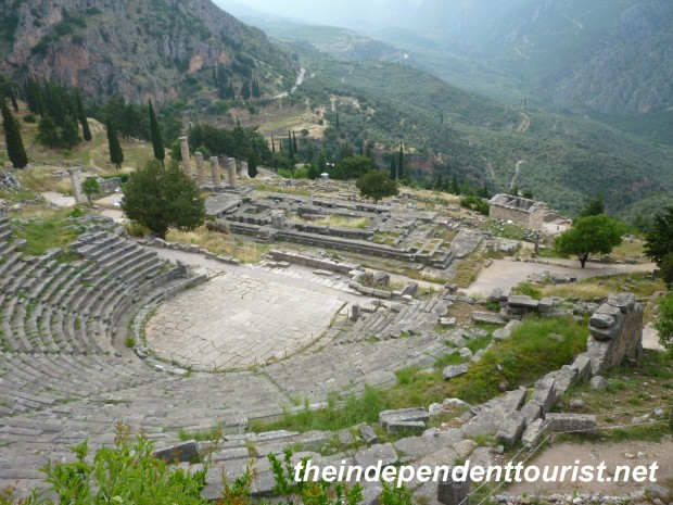 Roman Theater, Delphi, Greece.