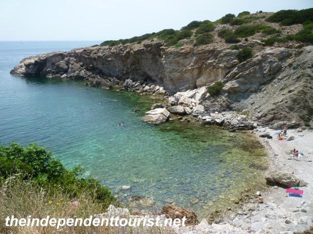 Beach, Sounion, Greece