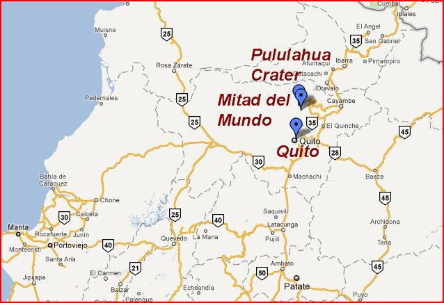 Ecuador map the independent tourist published september 5 2011 at 638 436 in gumiabroncs Image collections