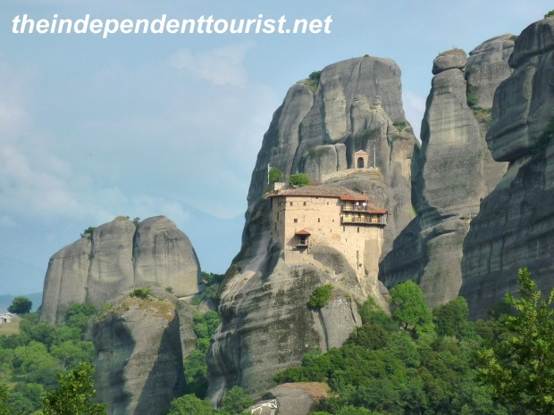 Monastery of St. Nicholas, Meteora, Greece.
