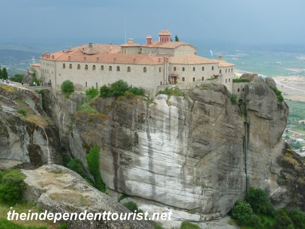 Holy Monastery of St. Stephen, Meteora, Greece.