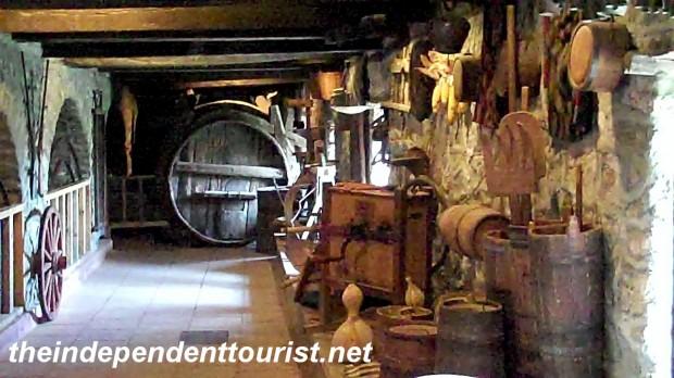 Storage room, Great Meteron Monastery, Meteora, Greece.