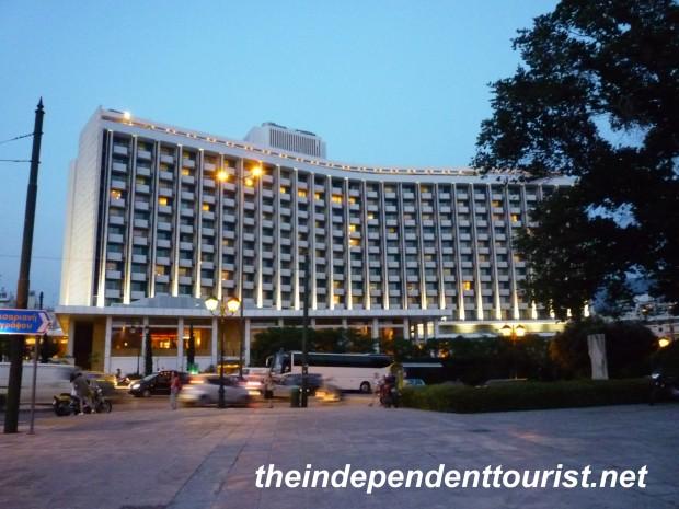 Athens Greece Hilton Hotel