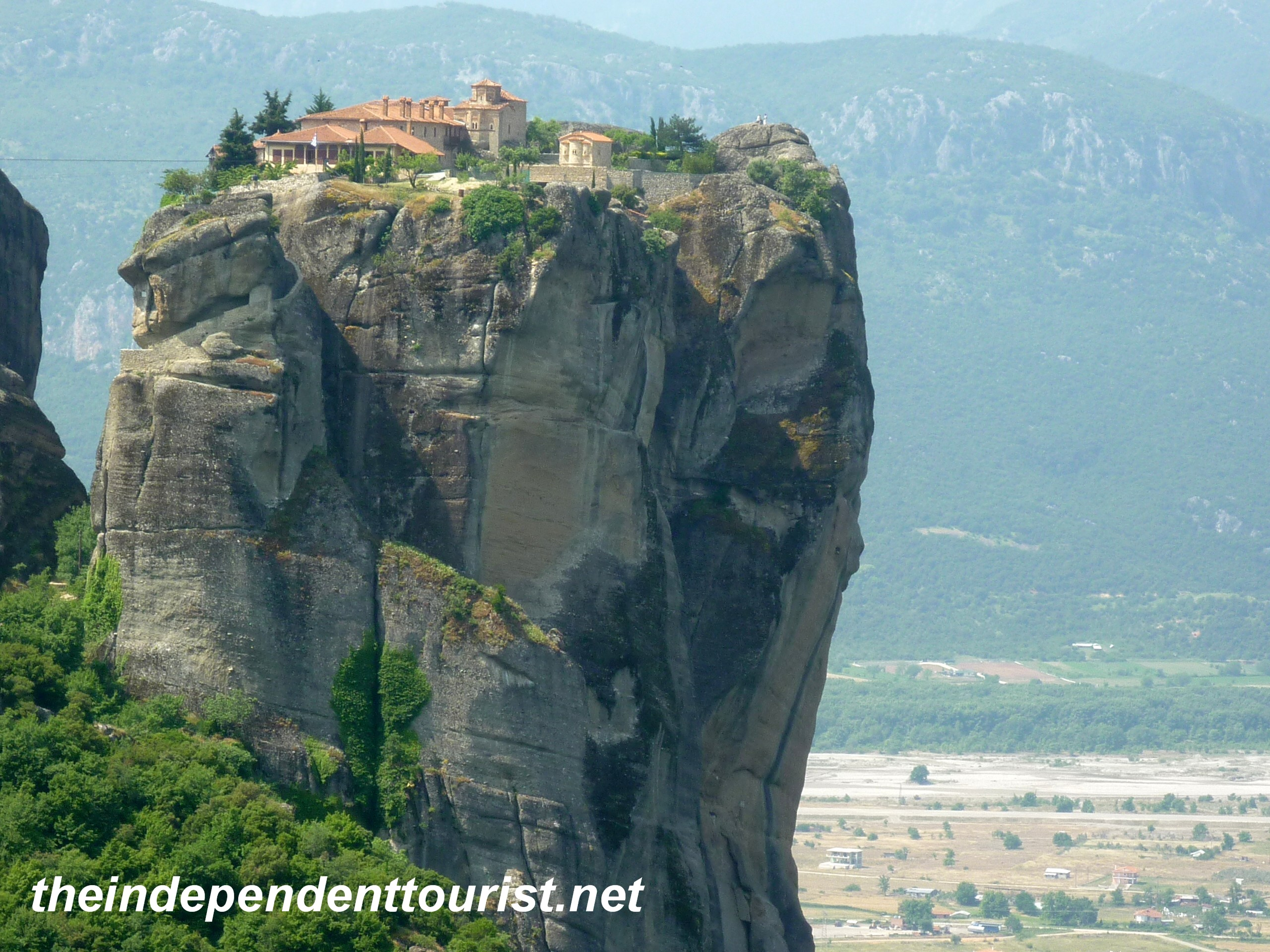 Greece In Our Eyes Holy Monastery Of Holy Trinity Meteora