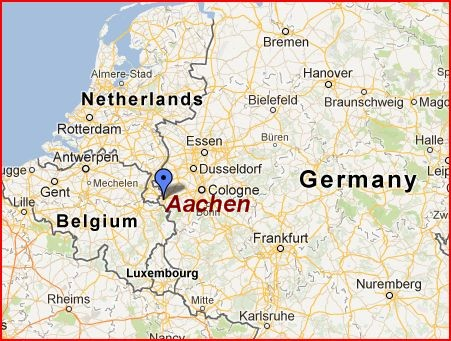 Aachen Map The Independent Tourist
