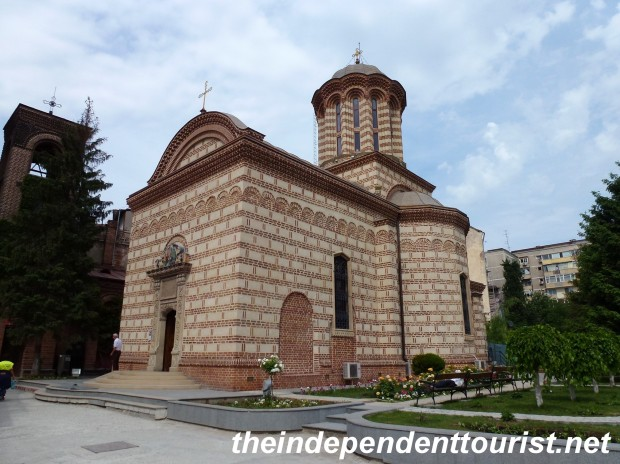 Princely Old Court Church - the oldest church in Bucharest (1500's).