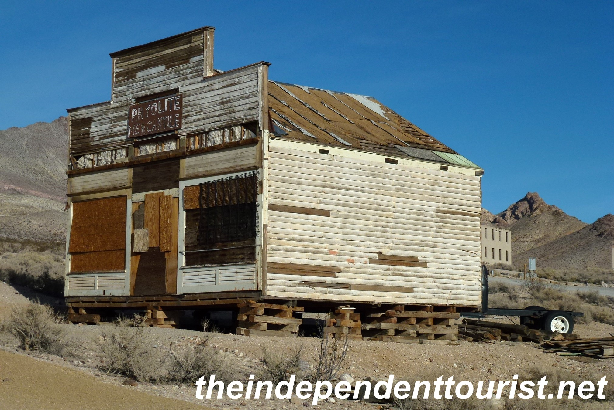 Panoramio - Photo of Rhyolite Ghost Town 09 Ghost Casino |Rhyolite Ghost Town