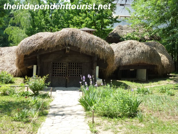This type of home was very practical - half buried, so it remained cool in the summer and warm in the winter. Also was easier to disguise during Ottoman raids. Plus less maintenance - few walls to paint!