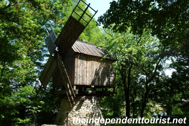 I didn't know that windmills were pretty common in southern Romania in medieval times.