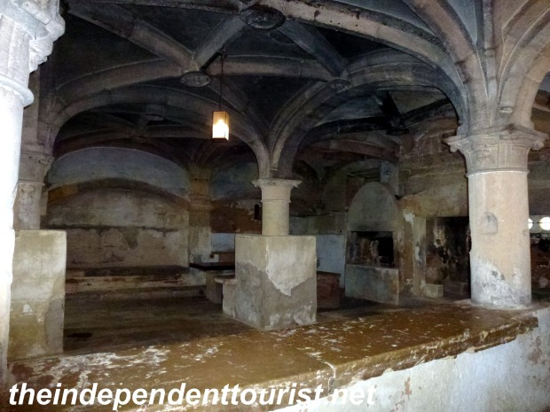 The kitchen of the monastery (16th century).