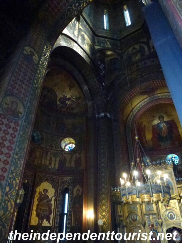 Another view of the interior of the monastery.