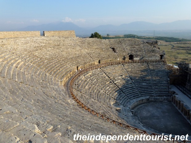 The theater at Hierapolis could seat 20,000.