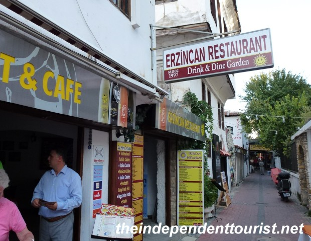 One of our favorite restaurants in Turkey was in Kusadasi.