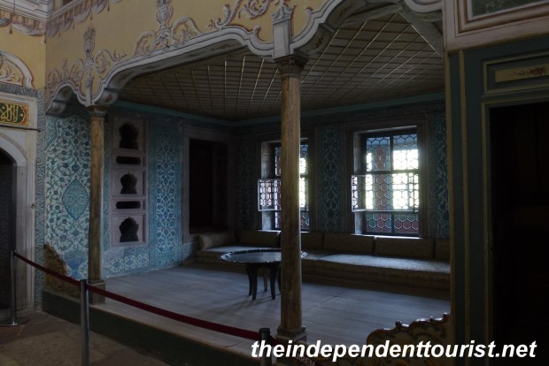The Apartment of the Queen Mother, the most powerful woman in the Harem.