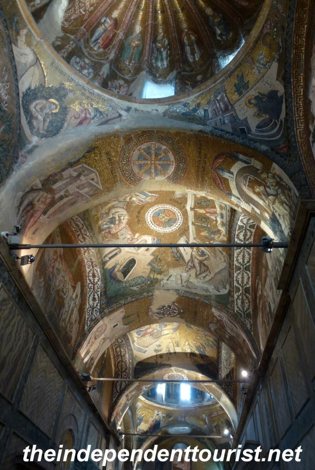 14th century mosaics in the Chora Church.