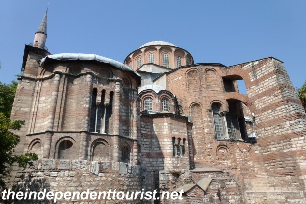The Chora Church. 11th century, remodeled in the 14th century.