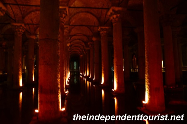 A view in the cisterns.