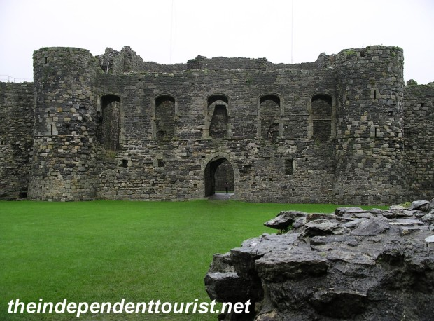 Another interior view of Beaumaris Castle.