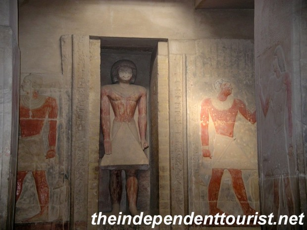 Inside the Tomb of Mereruka, there are 32 chambers in this tomb.