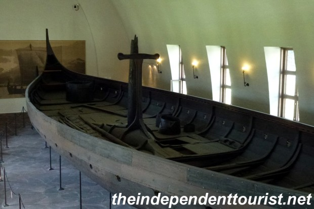 The Gokstad Ship, from 900 AD.