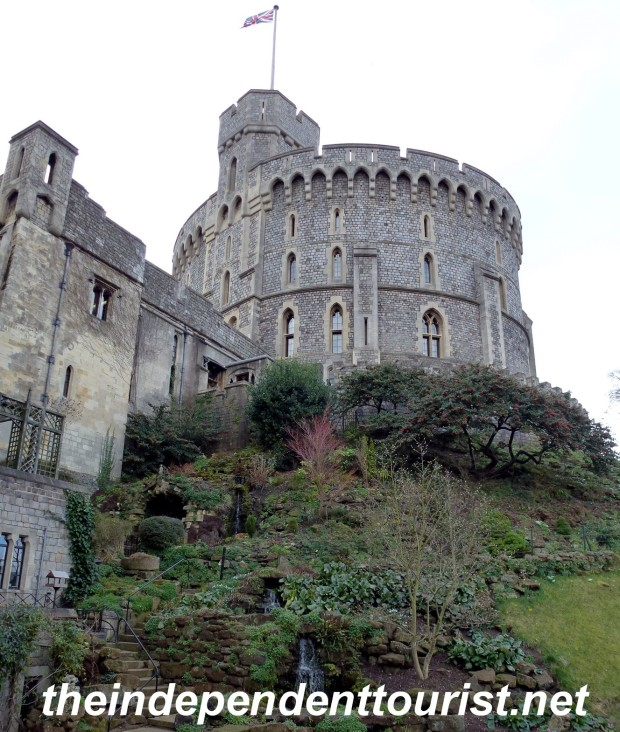 The Keep at Windsor Castle. Its rooftop is open during the summer (I was there in February).