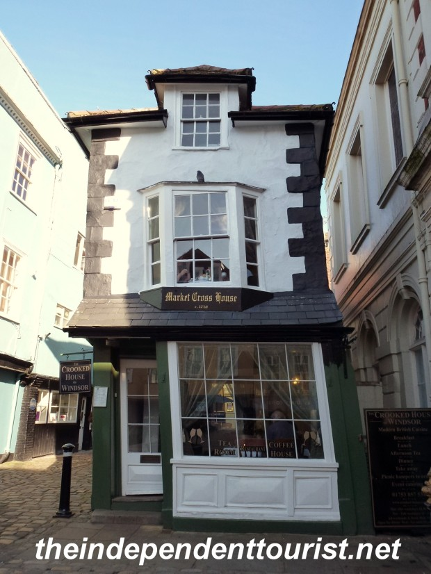 "The ""Crooked House"" of Windsor."