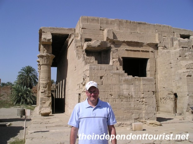 The Roman Mammisi - another small temple on the site of Dendara.