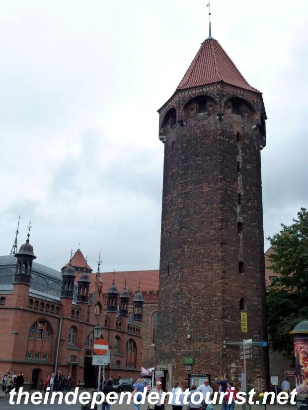 Hyacinthus' Tower in Gdansk, built in 1400.