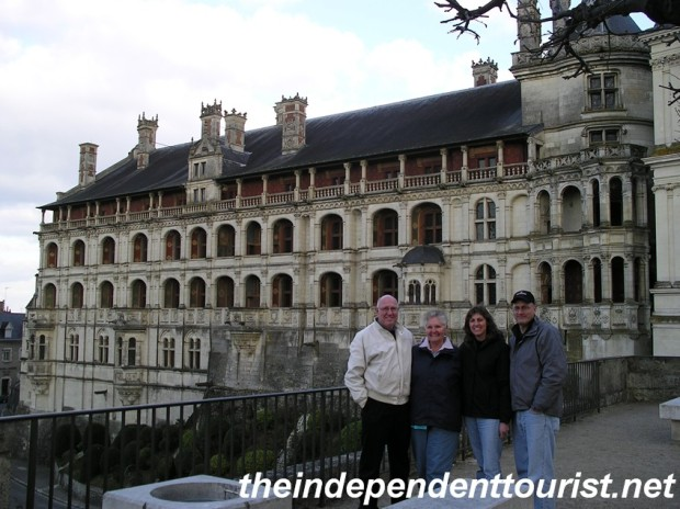 Blois Chateau, in the heart of the city of Blois.