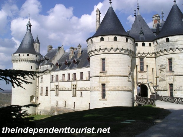 Chaumont Chateau has the look of a medieval castle.