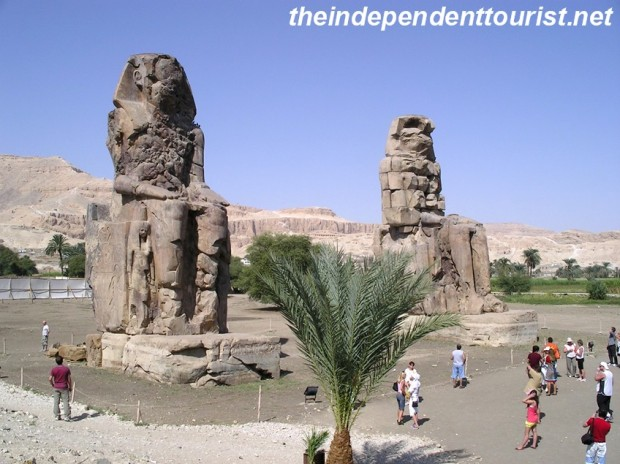 These 60 ft. statues have been standing watch over the West Bank of the Nile for almost 2,400 years.
