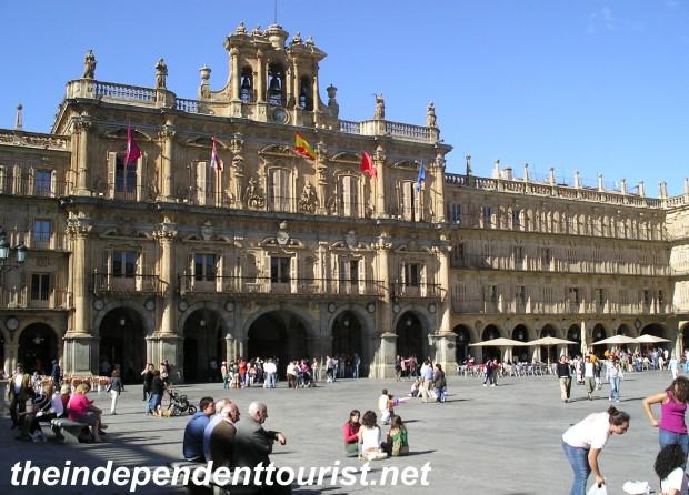 Salamanca's great Plaza de Mayor.