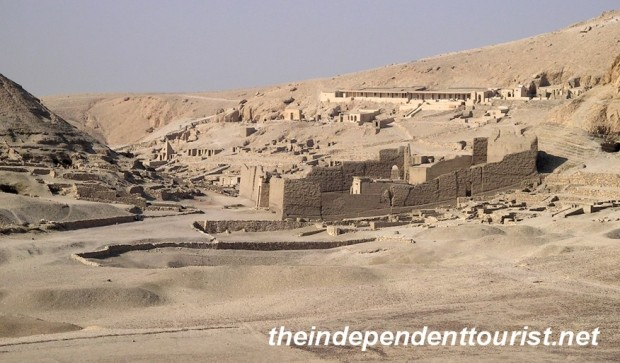 Another view of the Worker's Village (Deir al-Medina).