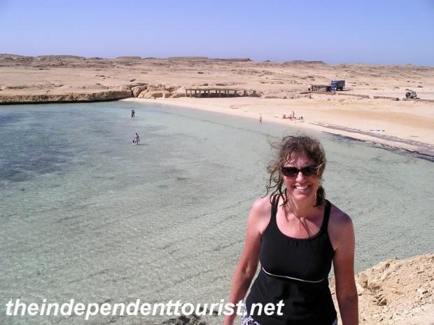 An incredible beach at Ras Mohammed National Park.
