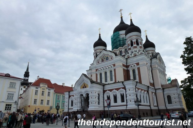 The Alexander Nevsky Russian Orthodox Cathedral was built in 1900, and although it's not ancient, it has a number of beautiful mosaics and is a testament to Russian influence in this country.